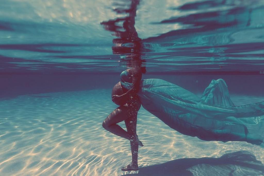 Ensaio Gestante Subaquático 11 - Johnell Celestino