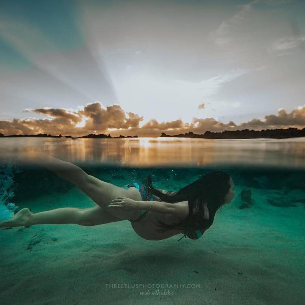 Ensaio Gestante Subaquático 05 Three Plus Photography