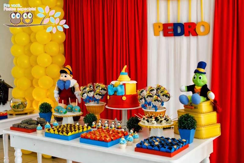 Festas Criativas-Pinoquio