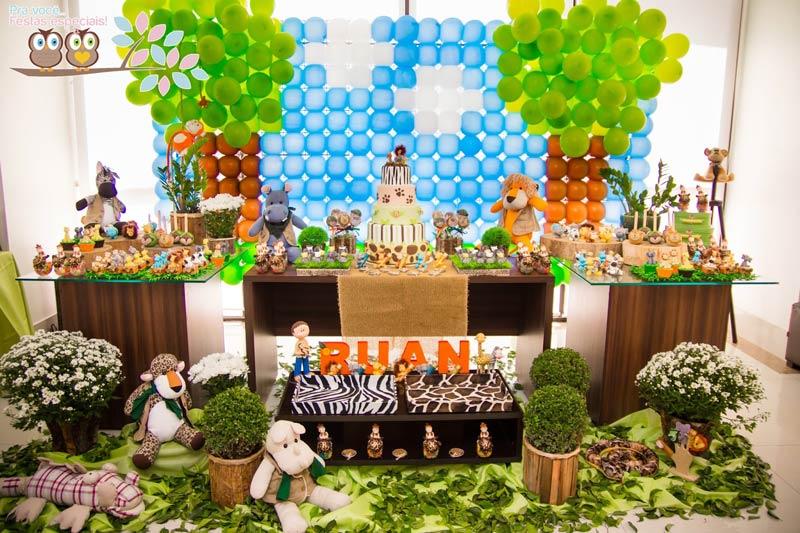 Festas Criativas-Safari