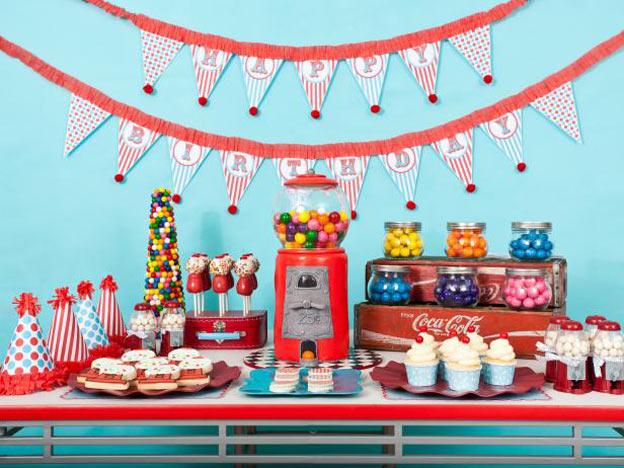 Tema-de-Festa-Infantil-Criativa-Gumball-Machine