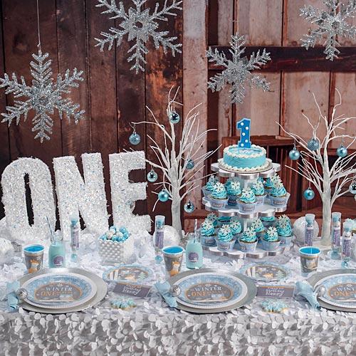Tema-de-Festa-Infantil-Criativa-Inverno-azul