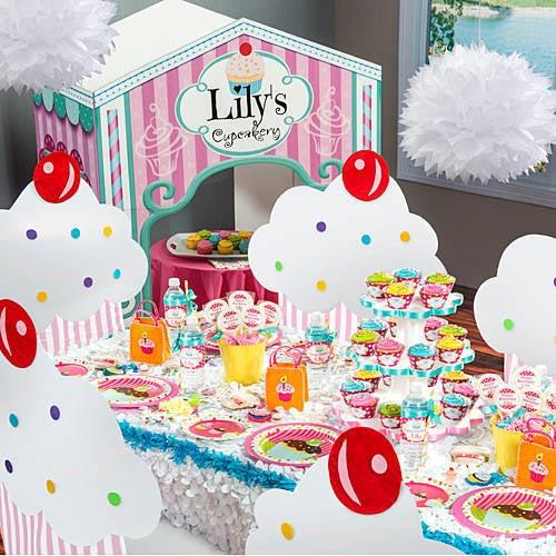 Tema-de-Festa-Infantil-Criativa-Loja-de-cupcakes