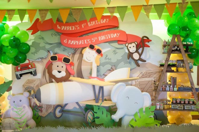 Tema-de-Festa-Infantil-Criativa-Safari