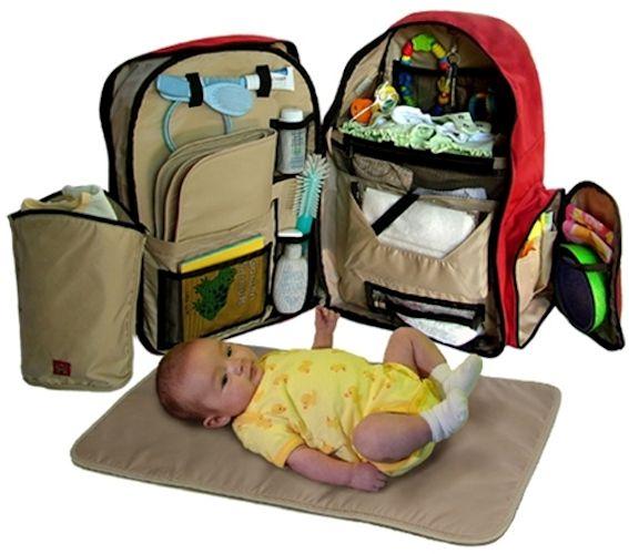 bolsa mochila do bebe