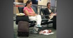 Querida Mae Que Colocou o Bebe no Chao do Aeroporto