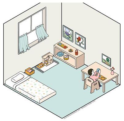 quarto montesoriano de crianca