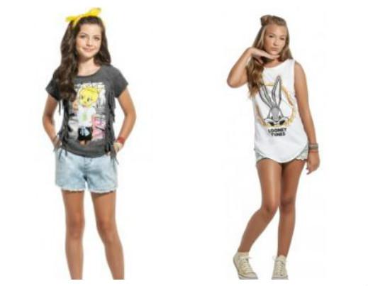 roupas para meninas mais velhas