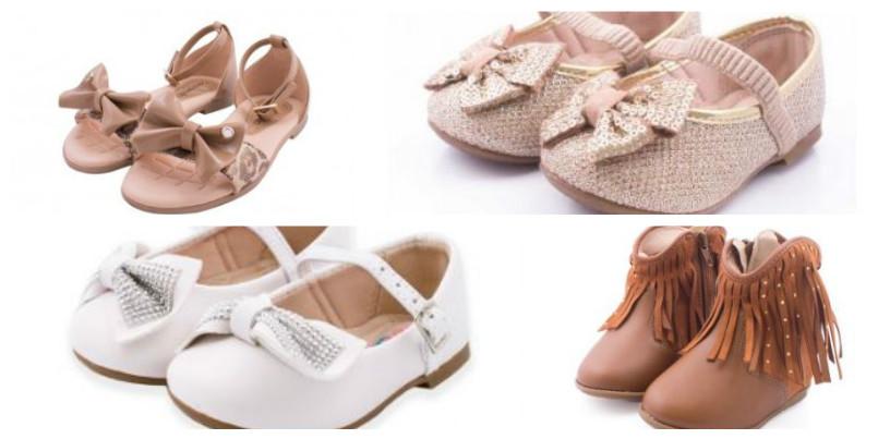 sapatos para meninas
