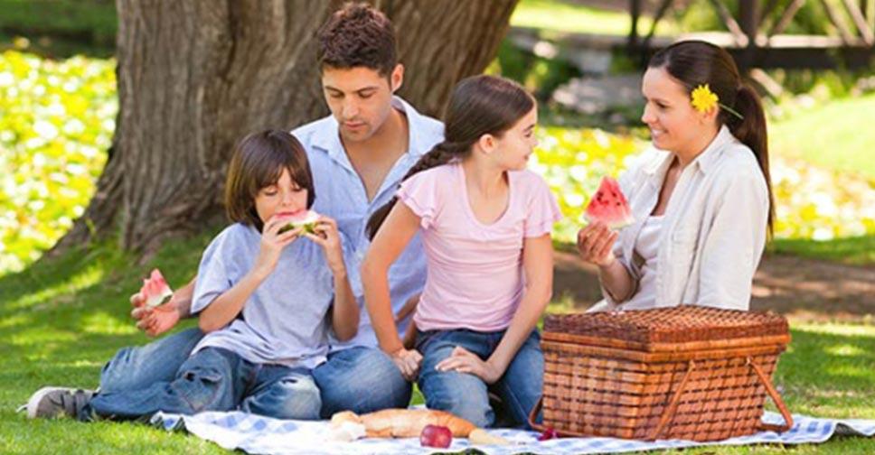 Passar tempo em família