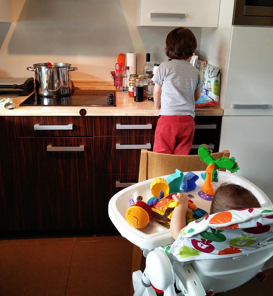 ajudantes de cozinha