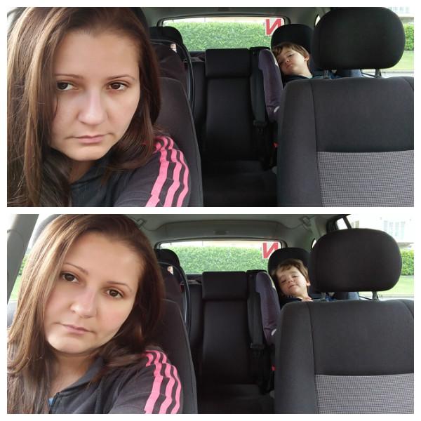 silencio no carro