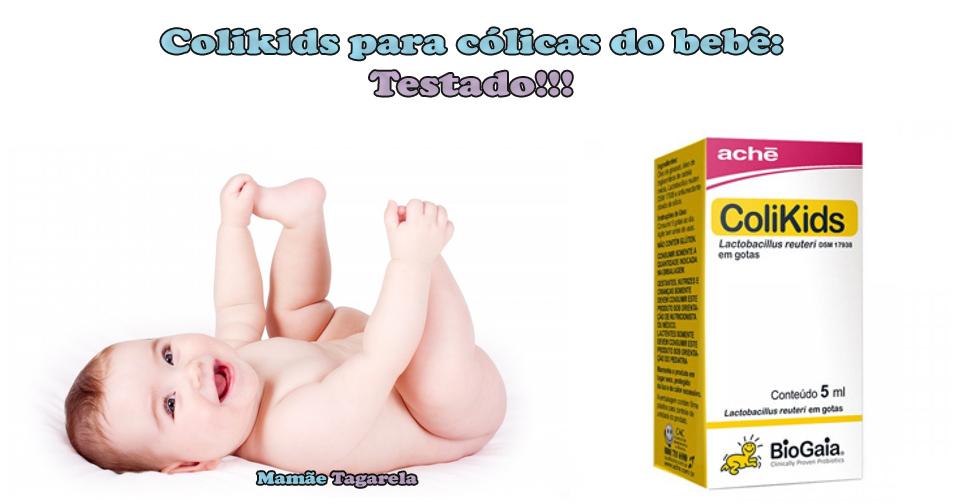 Colikids Para Colicas do Bebe Testado