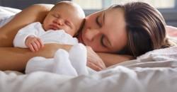 Cama Compartilhada Dicas de Como Dormir Junto do Bebe com Seguranca