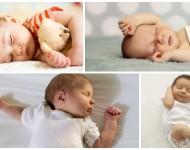 Descubra a Personalidade do Bebê Pela Forma Que Ele Dorme