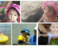 Dicas Para Ir à Praia com Bebê e Criança com Tranquilidade