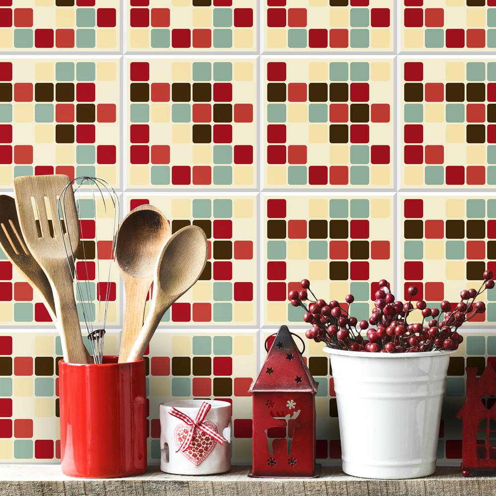 azulejo adesivo-para-azulejo-pastilhas-vintage