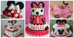 Bolos da Minnie