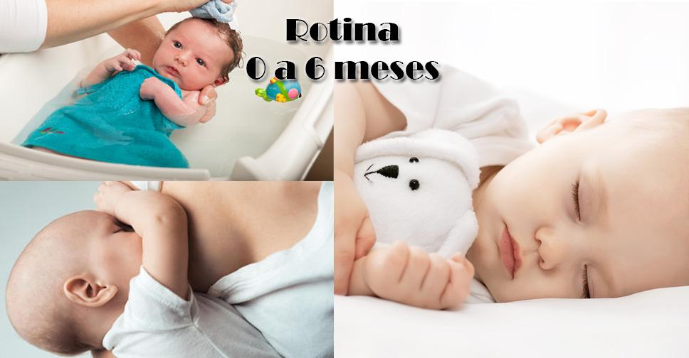 Rotina do Sono do Bebê de 0 a 6 Meses