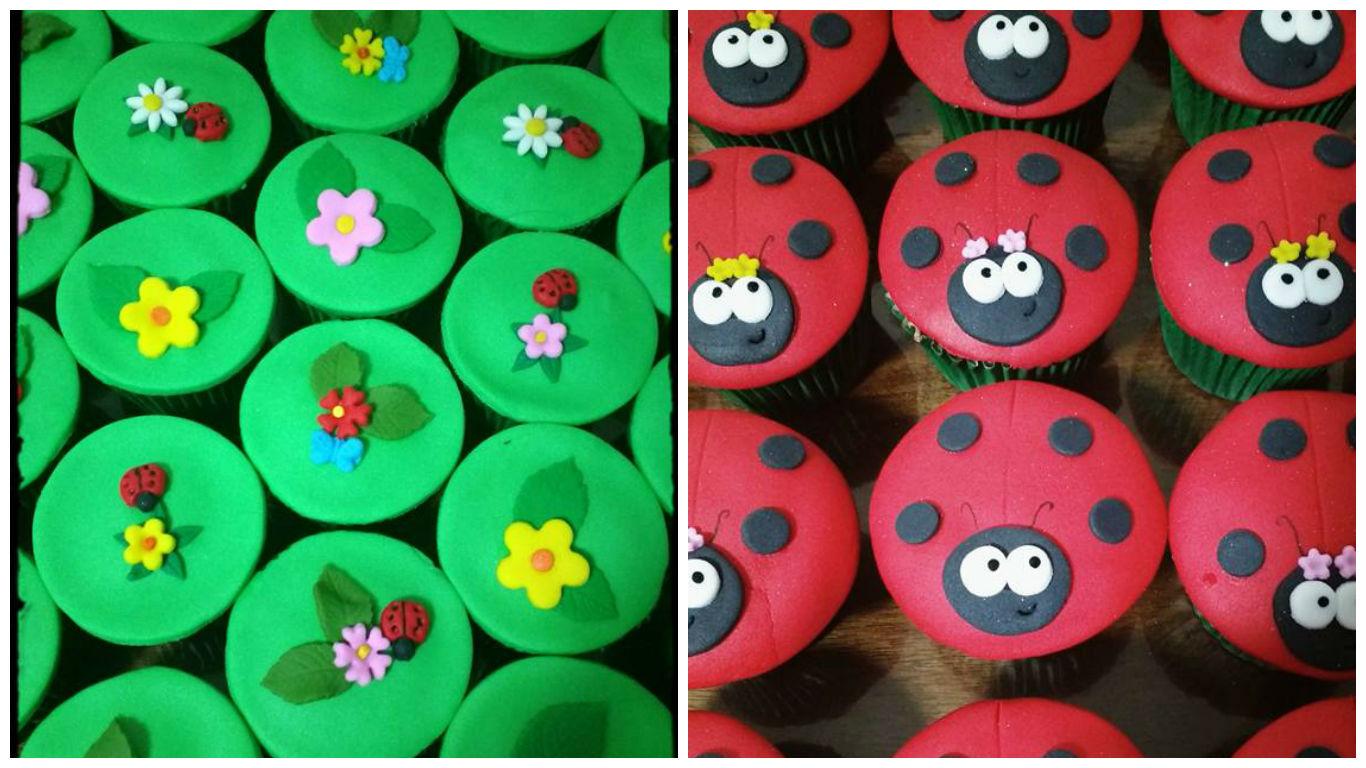 cupcake festa da joaninha