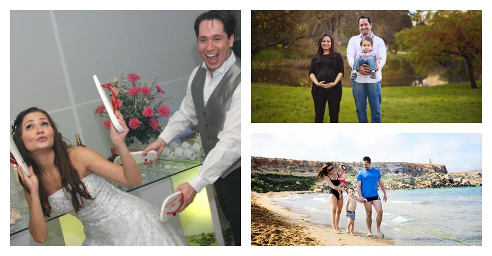 9 anos de casamento (13 juntos) contados em fotos divertidas