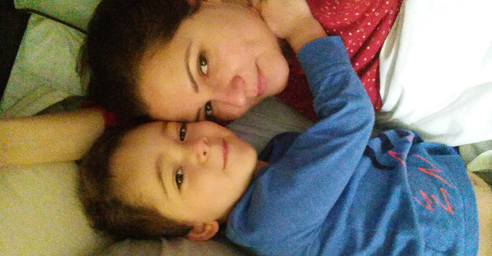Mãe de menino - Eu e Eric, meu menino lindo