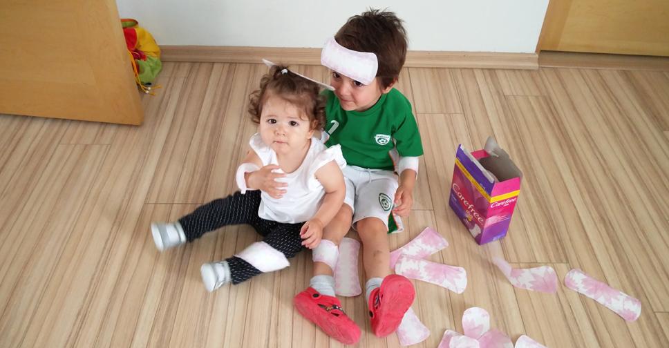 Mãe de dois – 10 coisas que os filhos fazem juntos