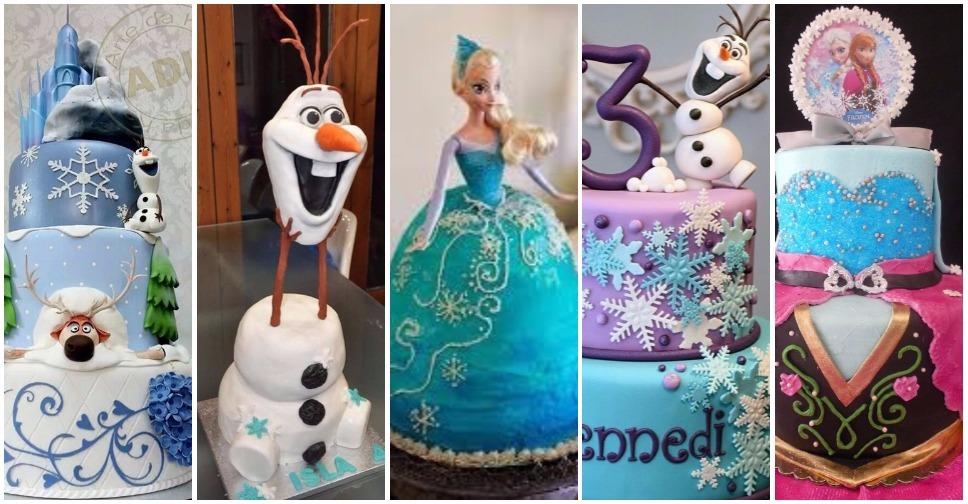 Bolo do Frozen – 40 Opções Para Você se Inspirar