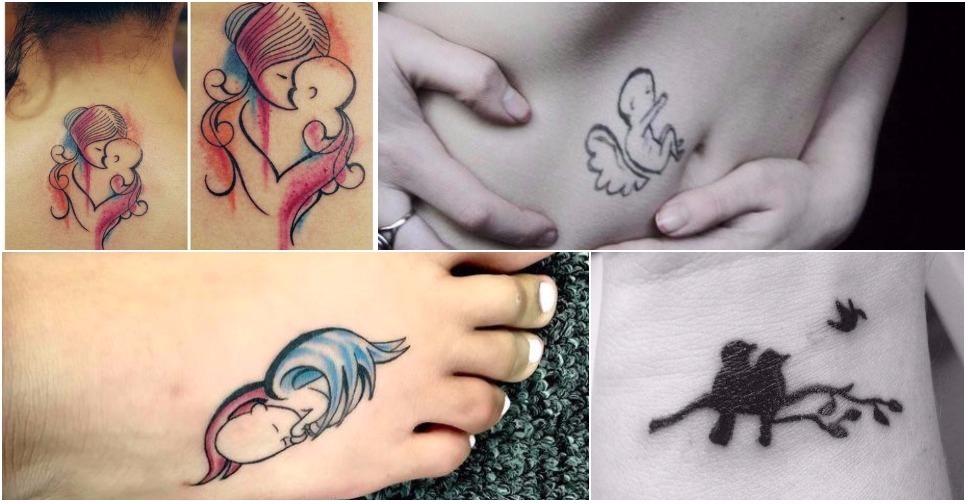 20 Tatuagens de Mães Que Perderam Seus Bebês