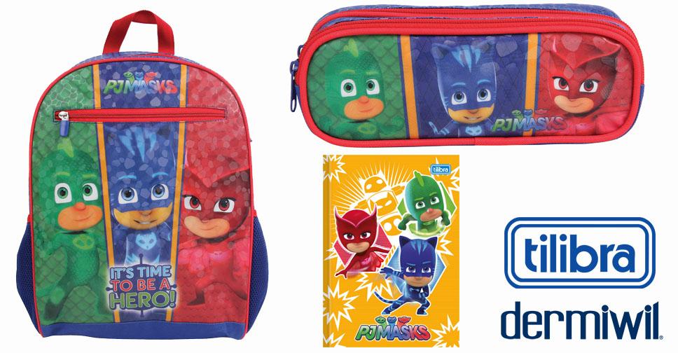 Volta às Aulas Super Poderosa com PJ MASKS e Ganhe um Kit Escolar