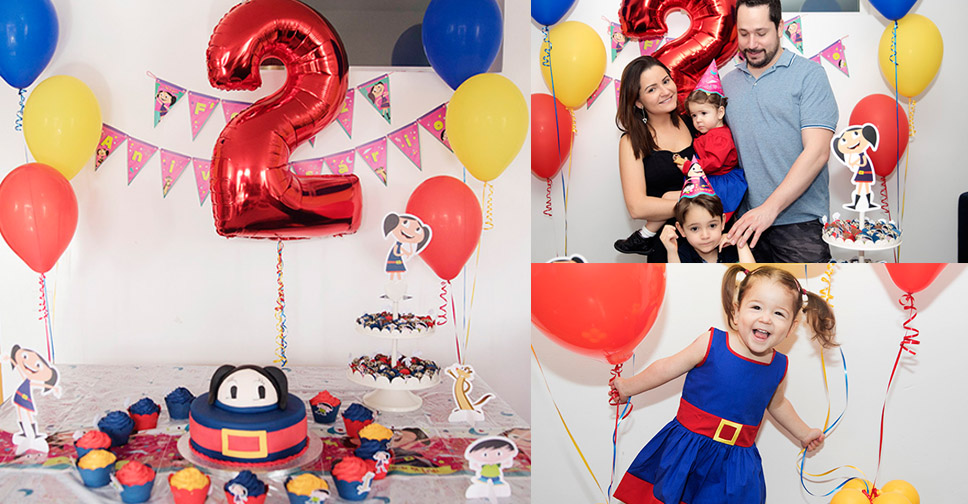 Festa o Show da Luna – Aniversário Lindo da Mia de 2 anos