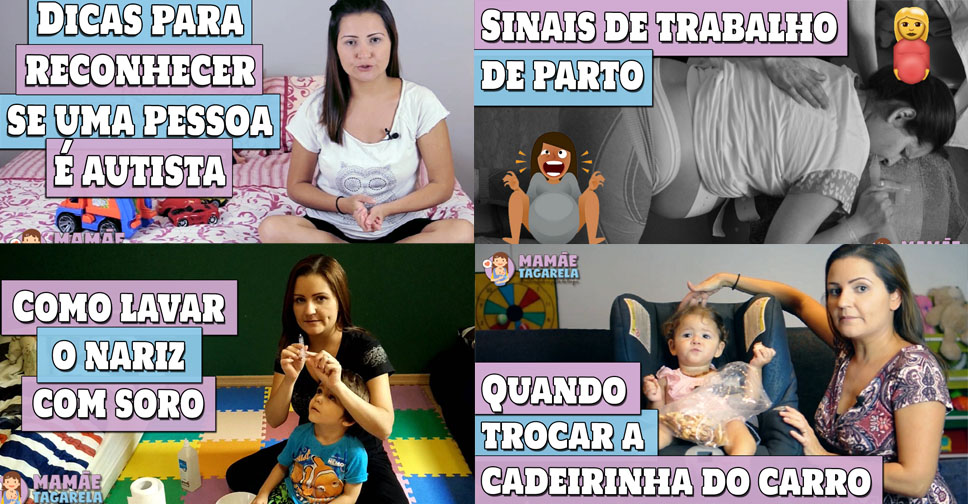Vídeos do Youtube mais Populares do Primeiro ano do Canal