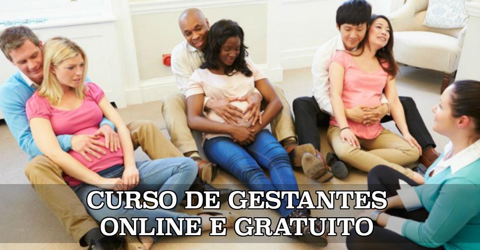 curso de gestantes online e gratuito