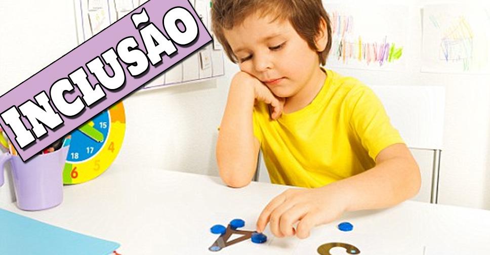 inclusão de crianças com autismo