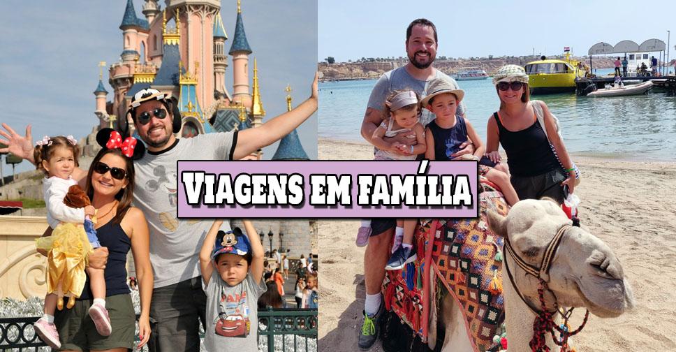 viagens em familia