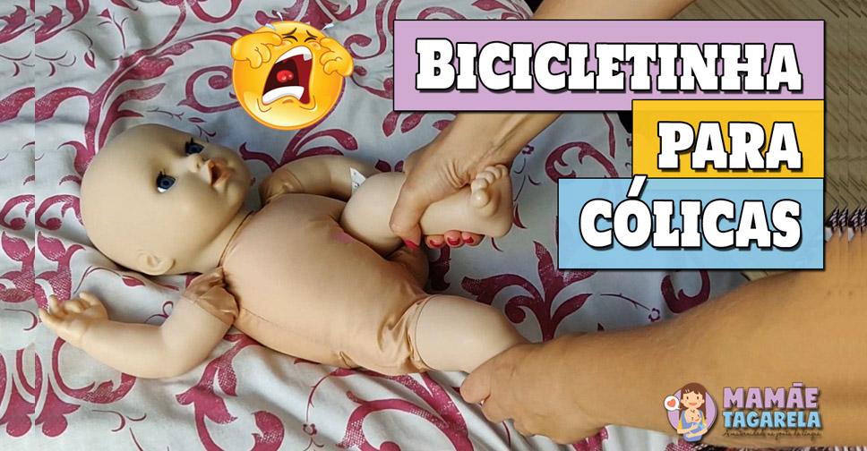 Aprenda como fazer bicicletinha para as cólicas